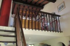 Treppe zur Mezzanine
